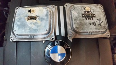 BMW Water Damage